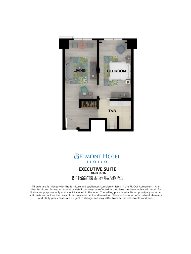 Belmont Hotel Iloilo Executive Suite 48sqm
