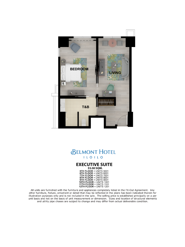 Belmont Hotel Iloilo Executive Suite 53sqm