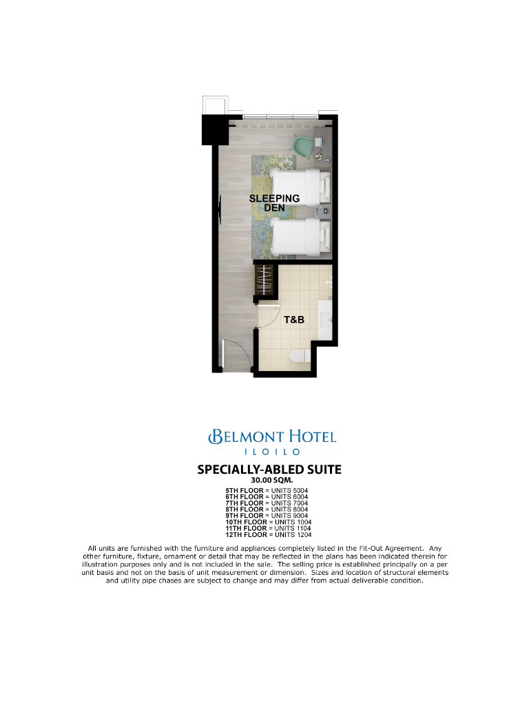 Belmont Hotel Iloilo Specially Abled Suite 30sqm