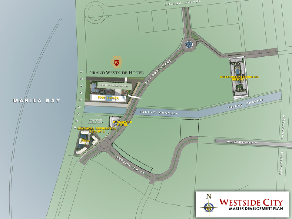 Grand Westside Hotel Site Development Plan 1