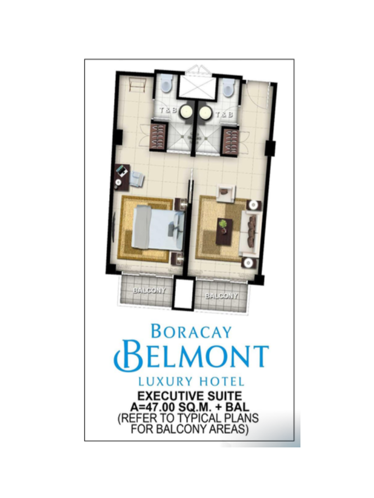 Boracay Belmont Luxury Hotel Executive Suite 47sqm