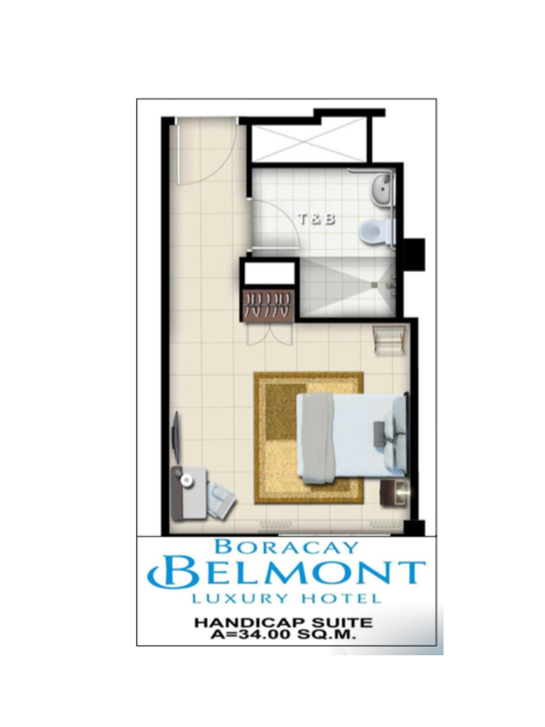 Boracay Belmont Luxury Hotel Specially-Abled Suite 34sqm