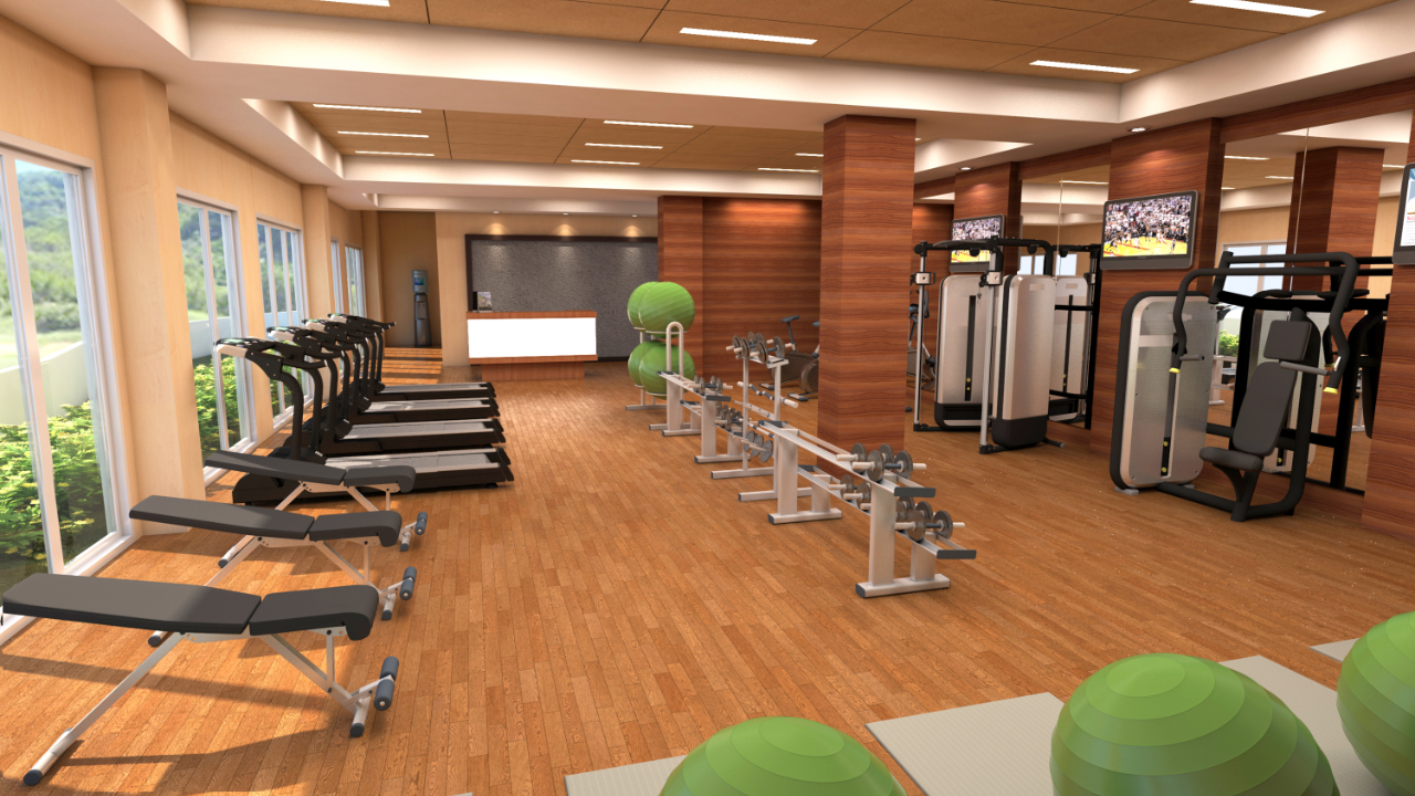 Chancellor Hotel Boracay Newcoast Gym