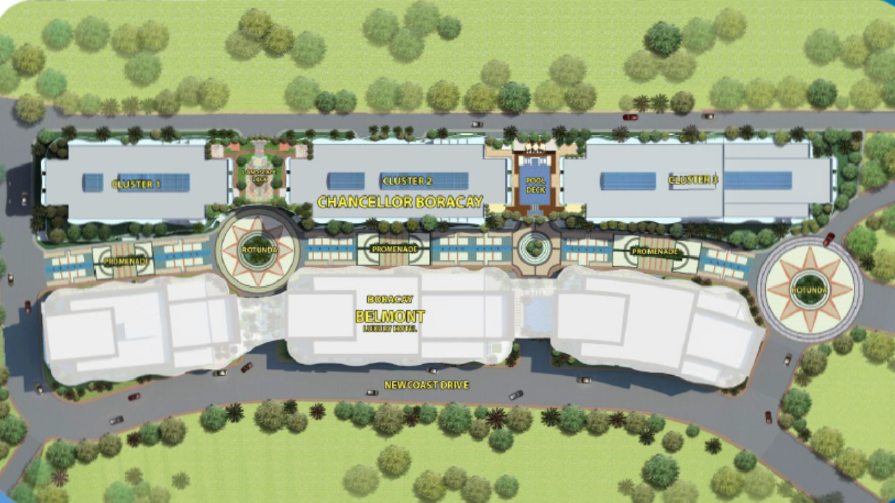 Chancellor Hotel Boracay Newcoast Site Development Plan
