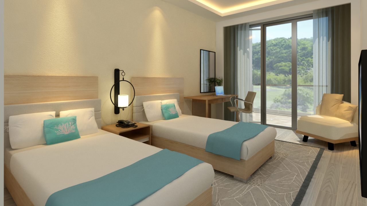 Chancellor Hotel Boracay Newcoast Twin Suite Room