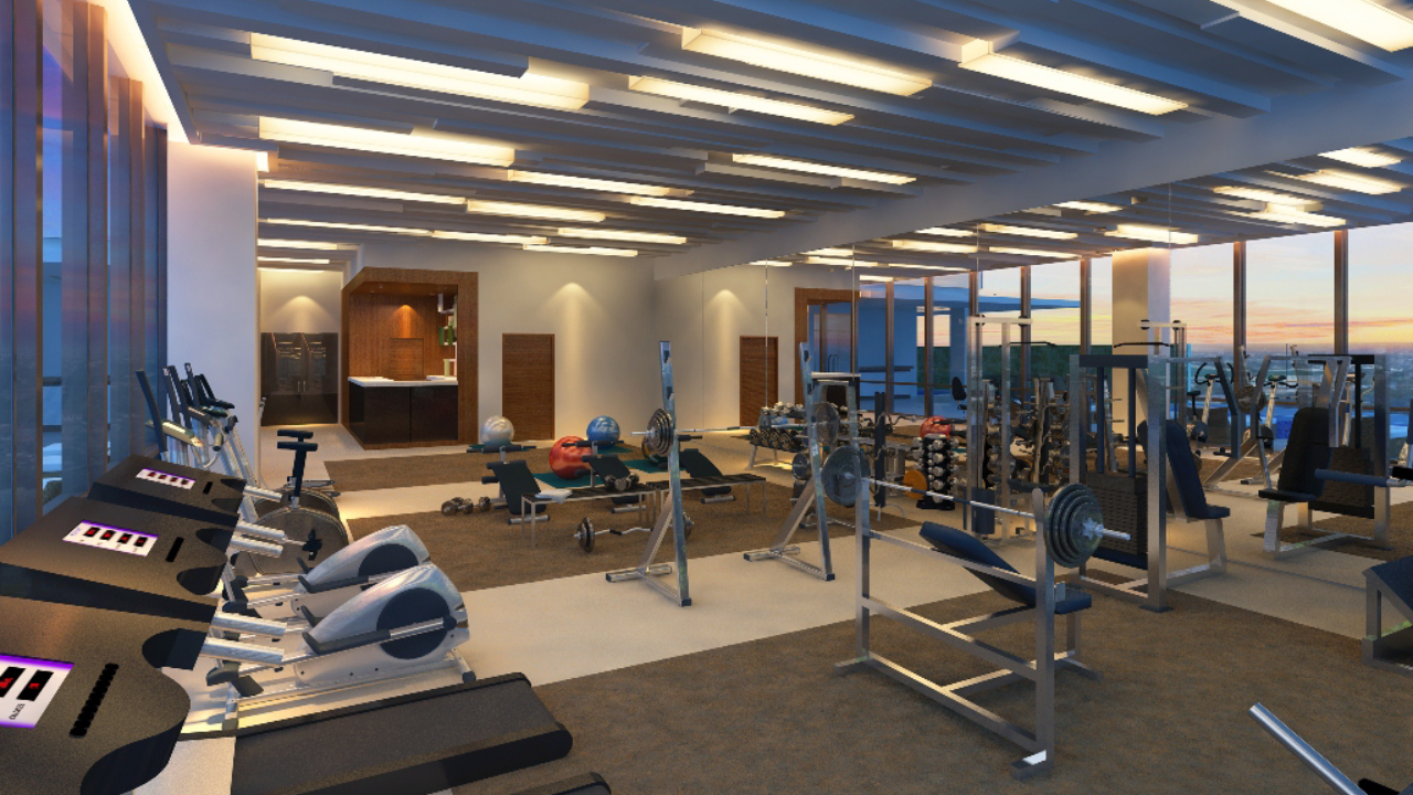 Mactan Belmont Luxury Hotel Gym 1