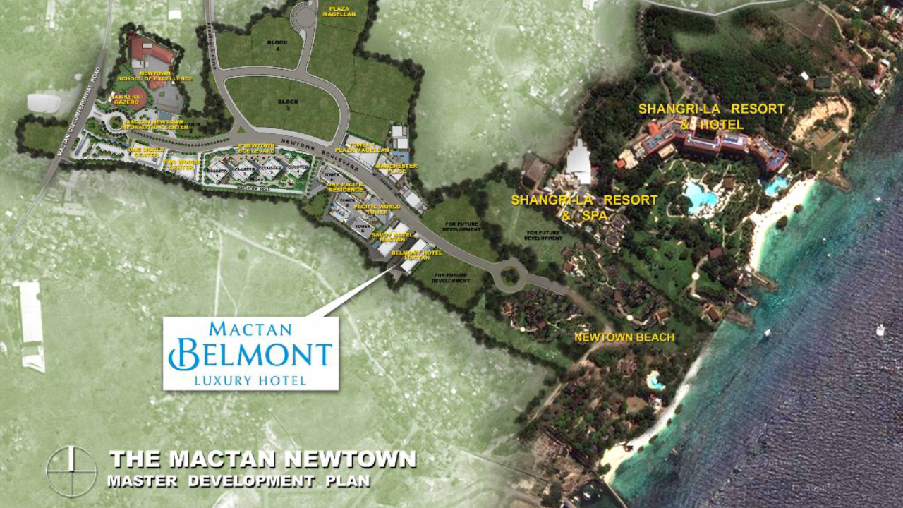Mactan Belmont Luxury Hotel Master Development Plan