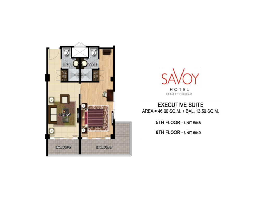 Savoy Hotel Boracay Newcoast Executive Suite 46sqm