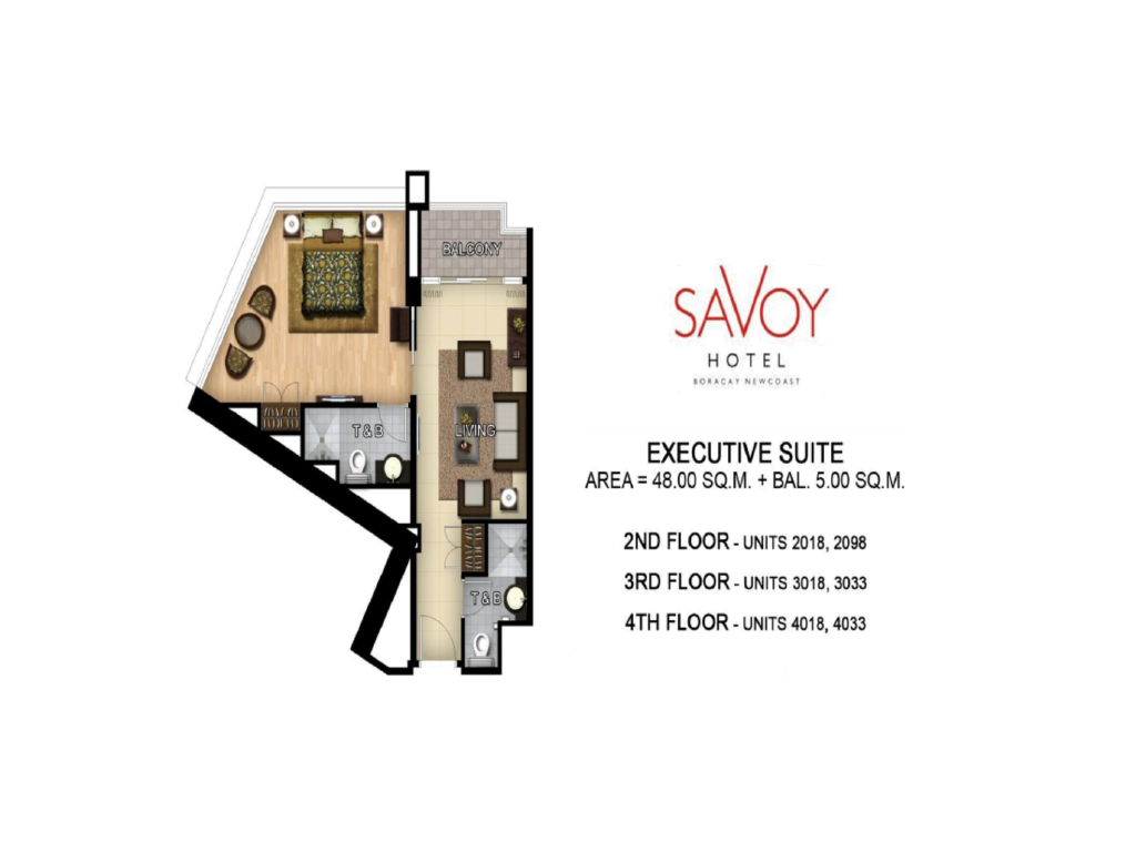 Savoy Hotel Boracay Newcoast Executive Suite 48sqm