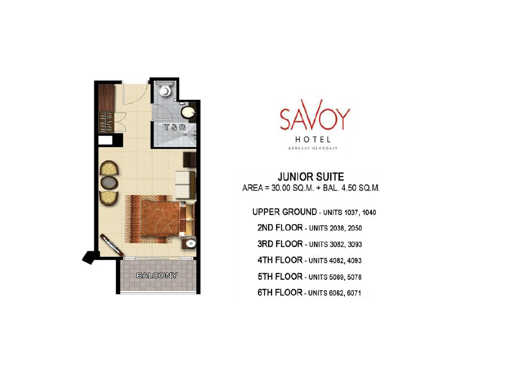 Savoy Hotel Boracay Newcoast Junior Suite 30sqm 2