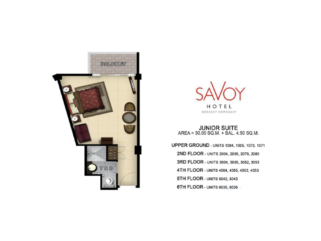 Savoy Hotel Boracay Newcoast Junior Suite 30sqm