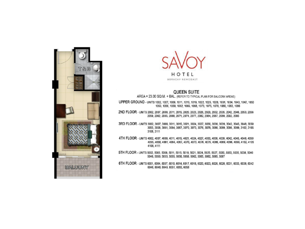 Savoy Hotel Boracay Newcoast Queen Suite 23sqm
