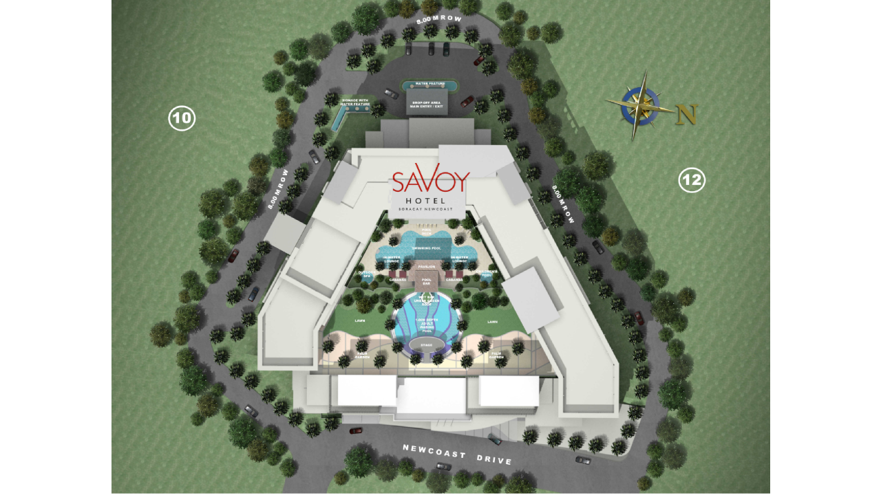 Savoy Hotel Boracay Newcoast Site Development Plan