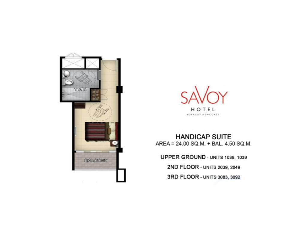 Savoy Hotel Boracay Newcoast Specially-Abled Suite 24sqm