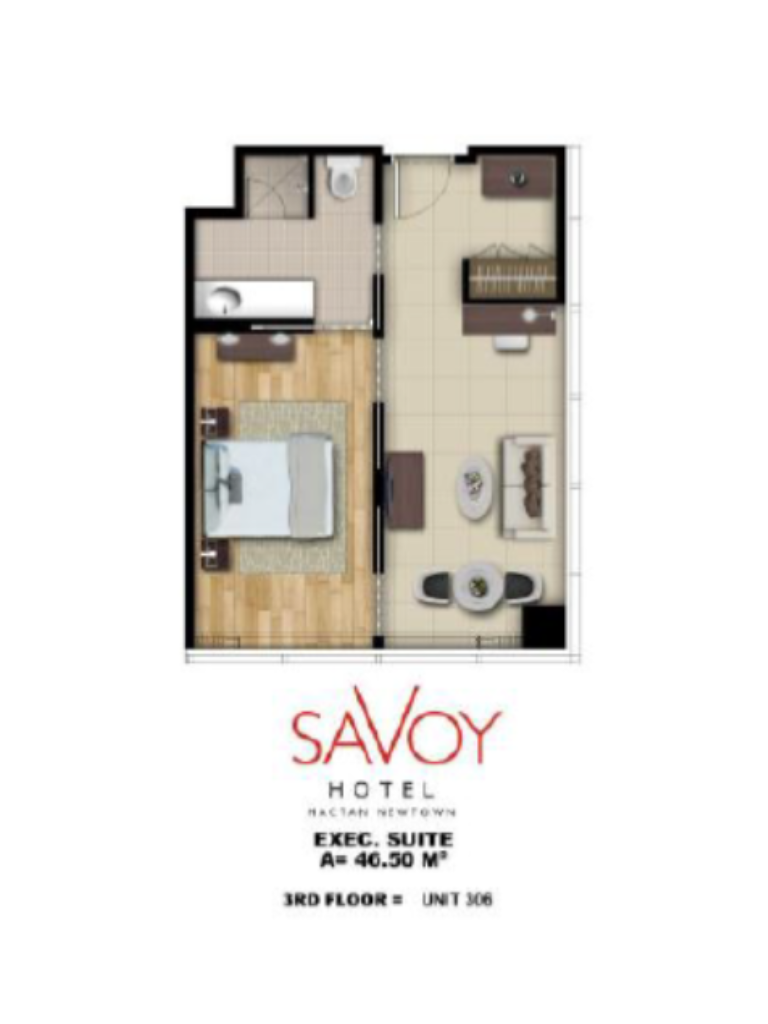 Savoy Hotel Mactan Newtown Executive Suite 4650m2