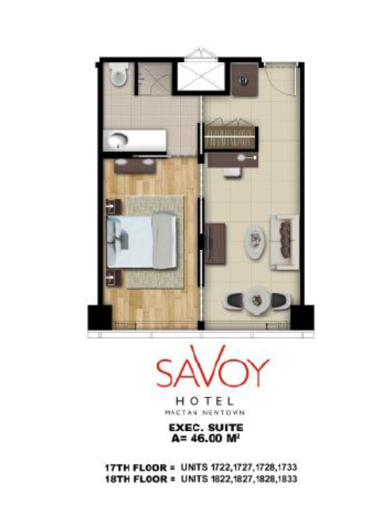 Savoy Hotel Mactan Newtown Executive Suite 46m2