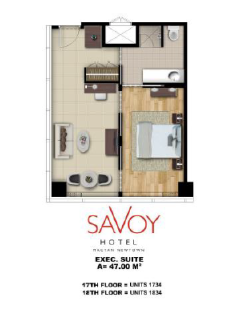 Savoy Hotel Mactan Newtown Executive Suite 47m2 2