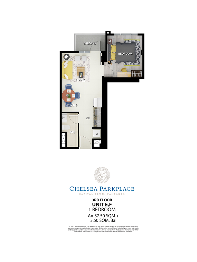 Chelsea Parkplace E,F 3rd Floor