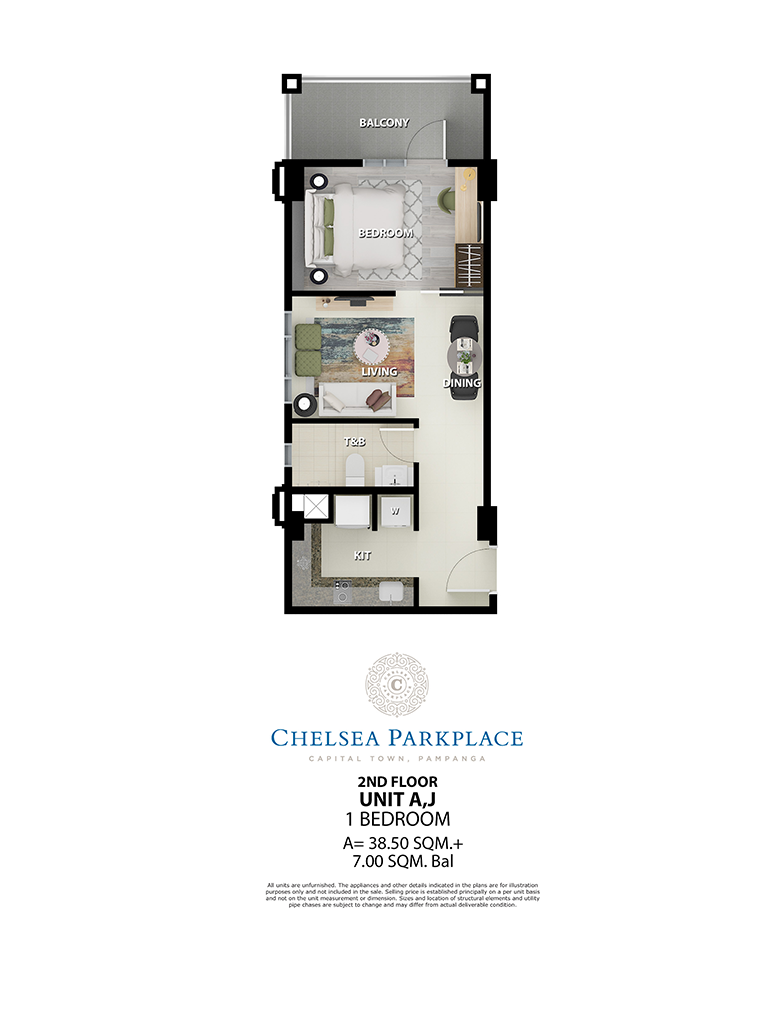 Chelsea Parkplace Unit A,J 2nd Floor