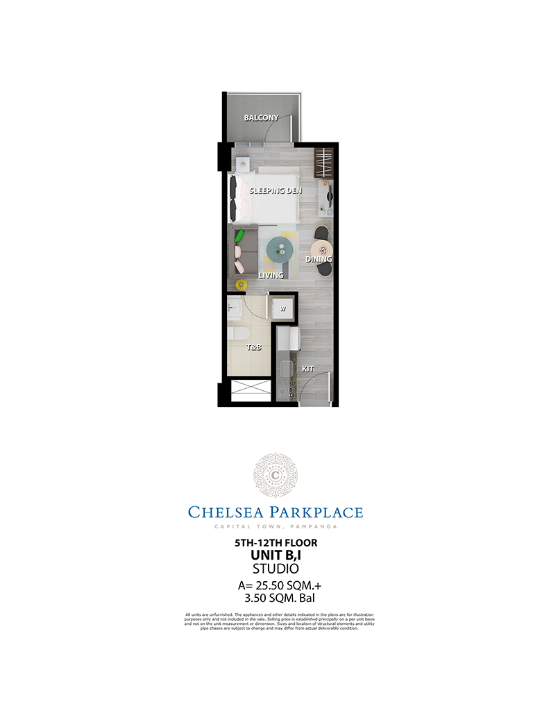 Chelsea Parkplace Unit B,I 5th - 12th