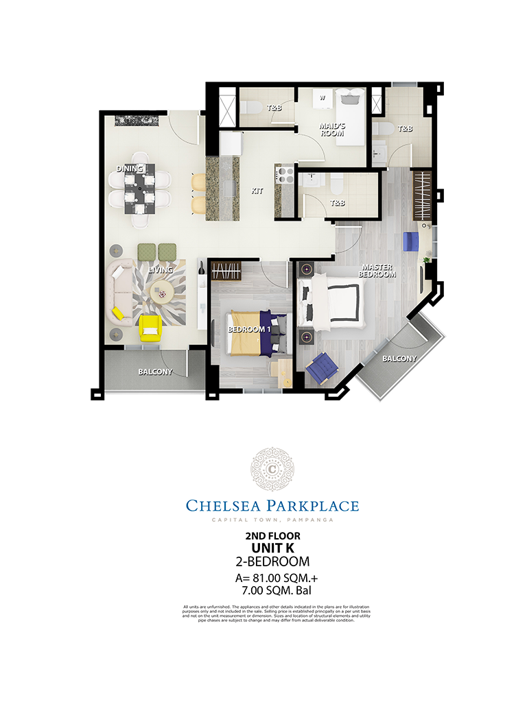 Chelsea Parkplace Unit K 2nd Floor