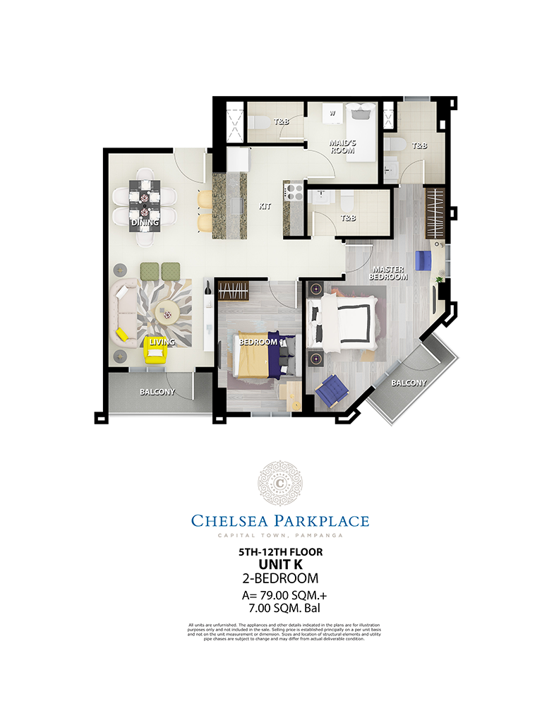 Chelsea Parkplace Unit K 5th - 12th