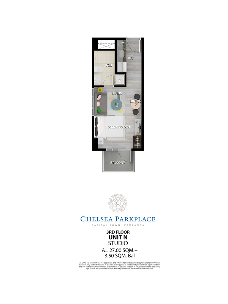 Chelsea Parkplace Unit N 3rd Floor