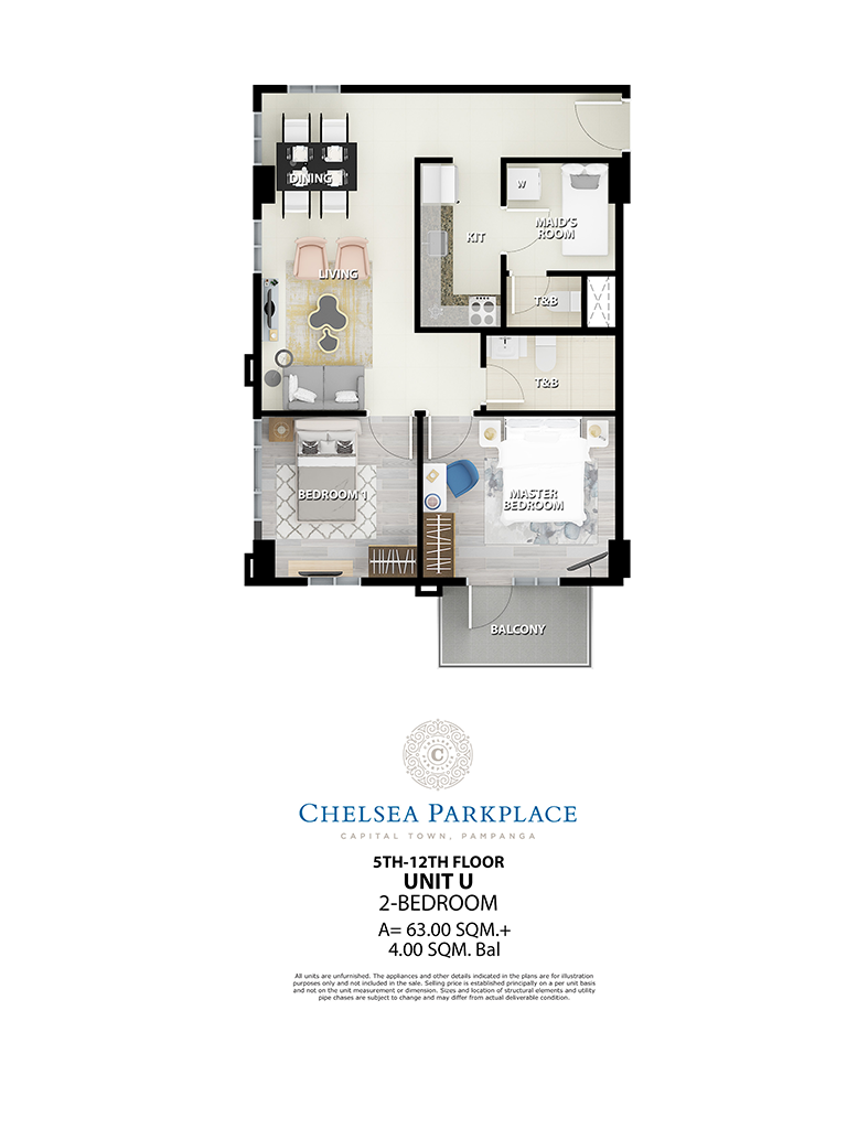 Chelsea Parkplace Unit U 5th - 12th Floor