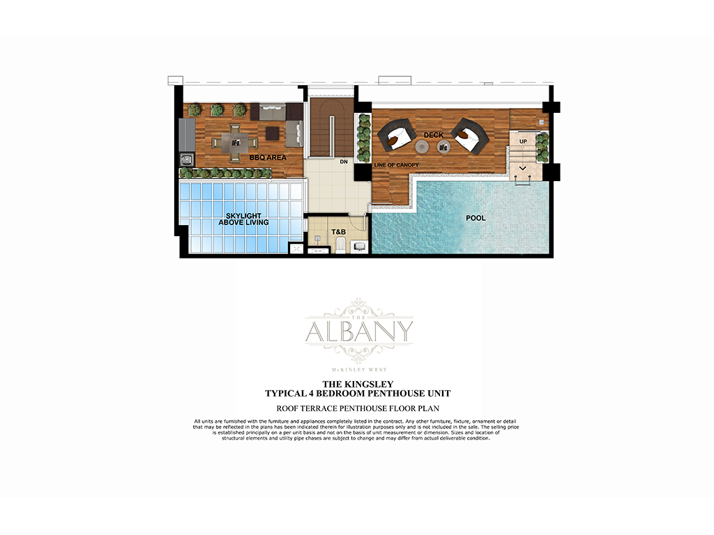 The Albany 4 Bedroom 252.5 SQ.M. 2