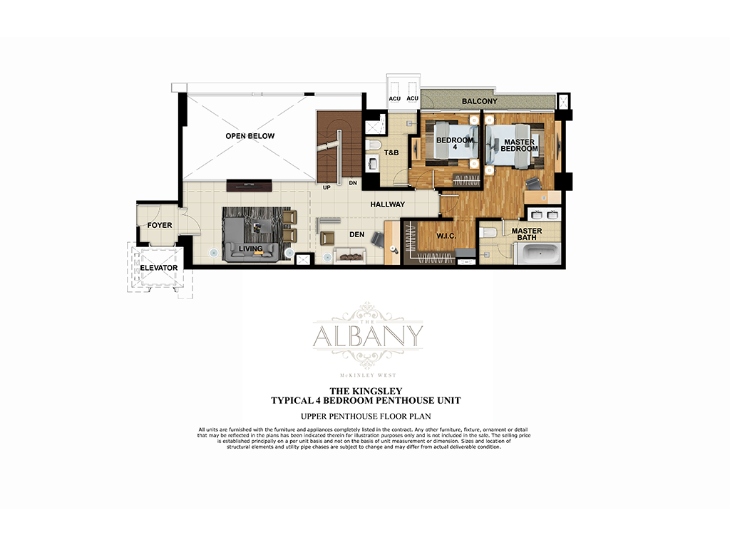 The Albany 4 Bedroom 252.5 SQ.M.