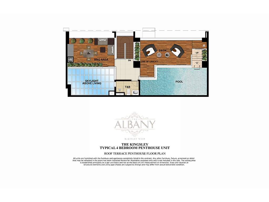 The Albany 4 Bedroom 254 SQ.M. 2
