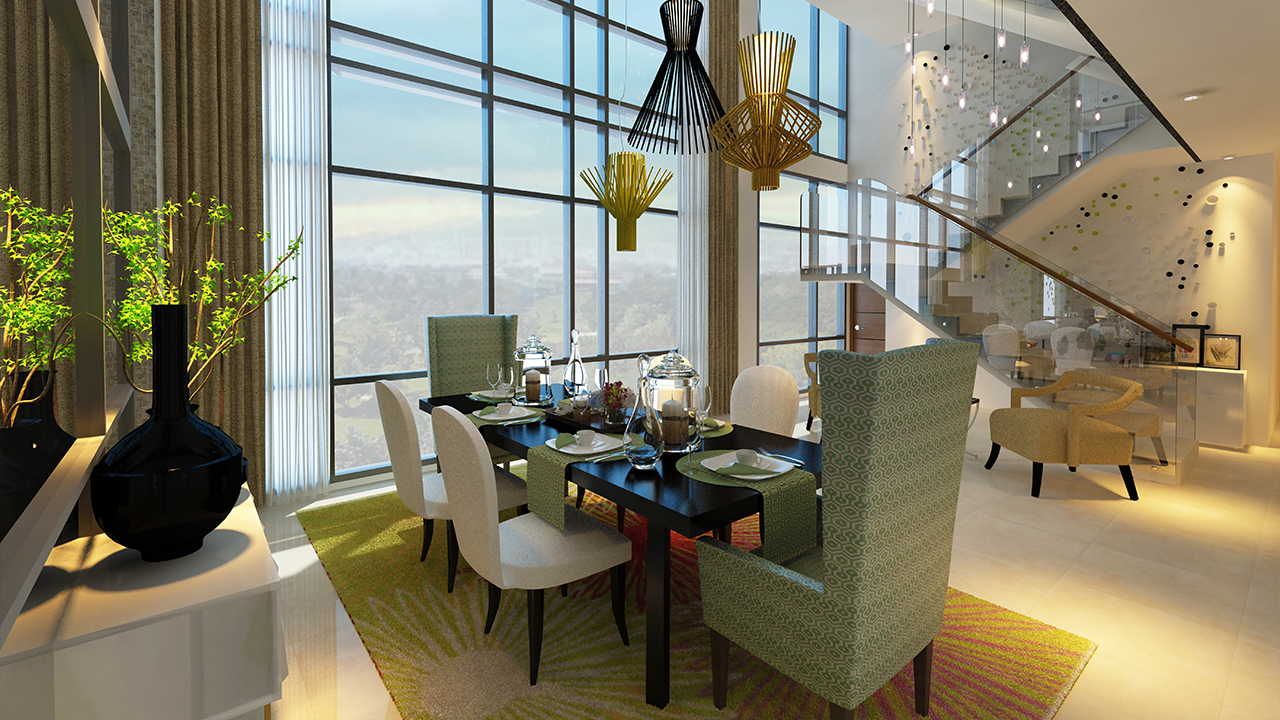 The Albany Lower Penthouse Dining