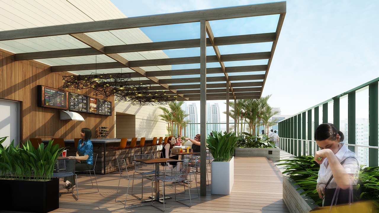 The Fifth Roof Deck