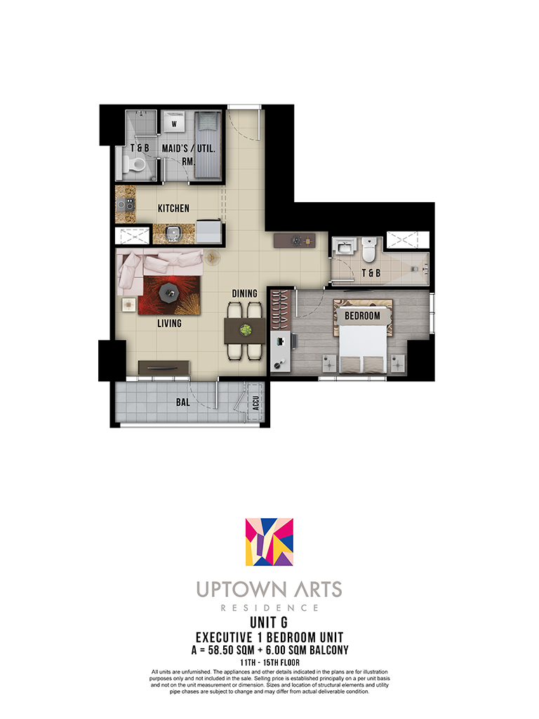 Uptown Arts 11th - 15th Unit G