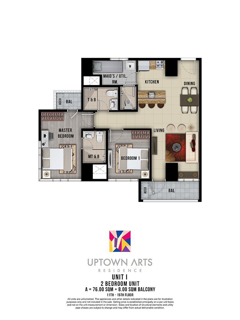 Uptown Arts 11th - 15th Unit I