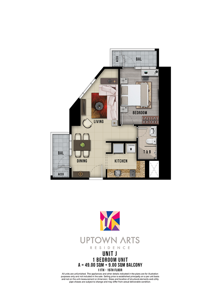 Uptown Arts 11th - 15th Unit J