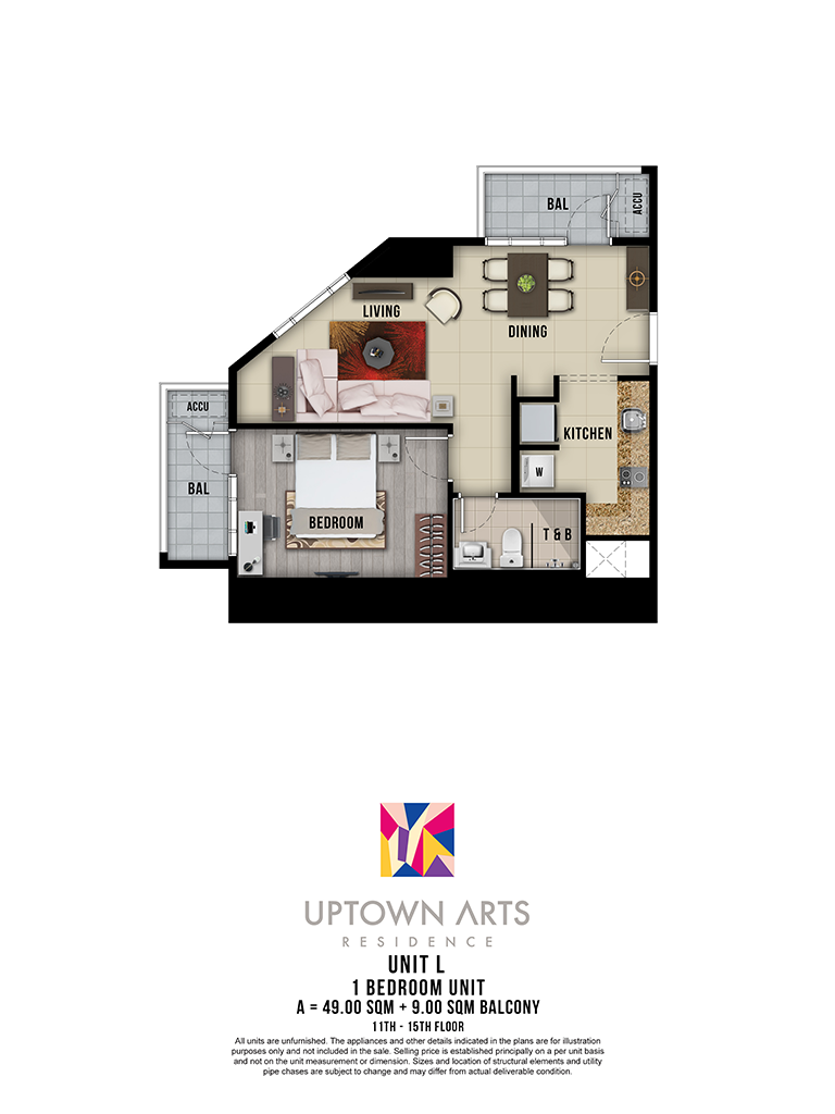 Uptown Arts 11th - 15th Unit L
