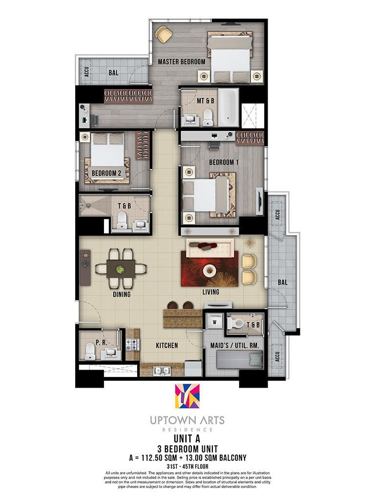 Uptown Arts 31st - 45th Unit A