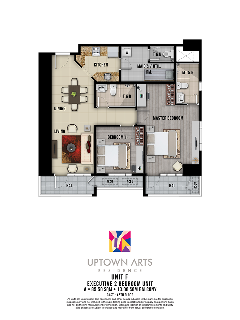 Uptown Arts 31st - 45th Unit F