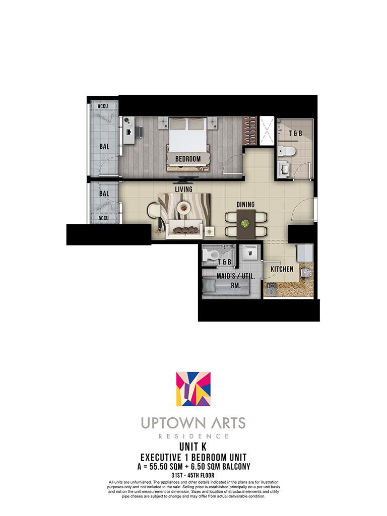 Uptown Arts 31st - 45th Unit K