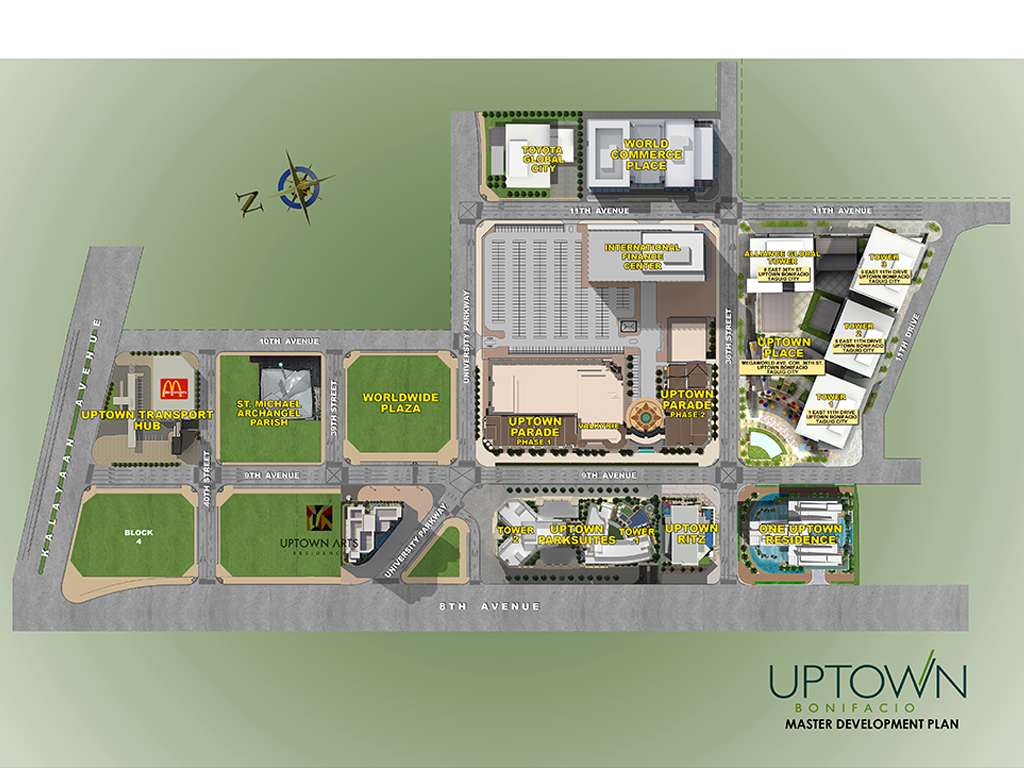 Uptown Arts Master Development Plan