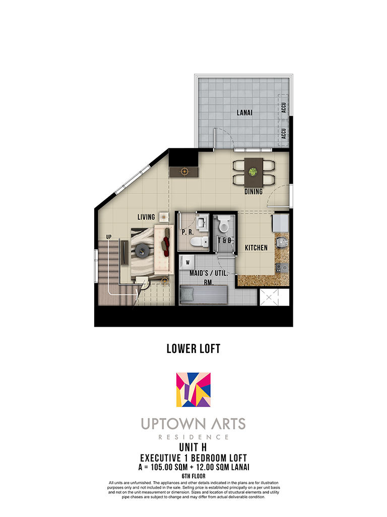Uptown Arts Unit H Lower Loft