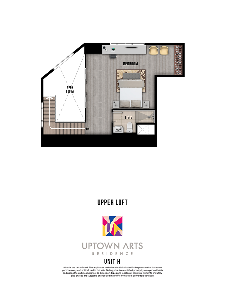 Uptown Arts Unit H Upper Loft