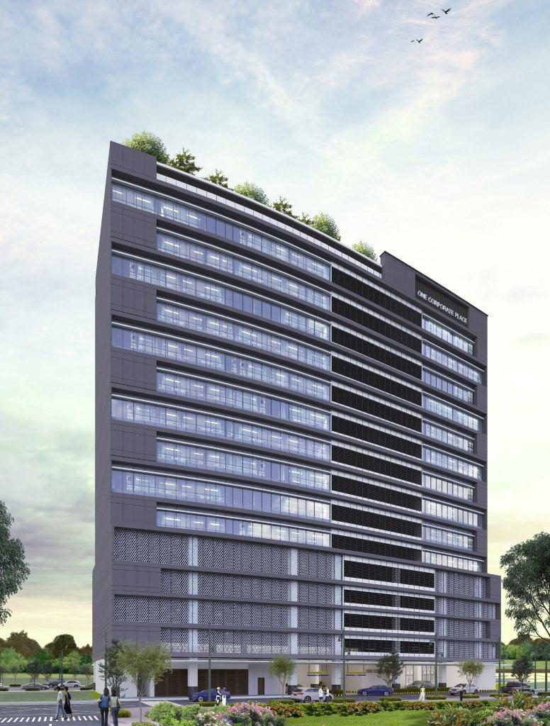 One Corporate Place Facade1