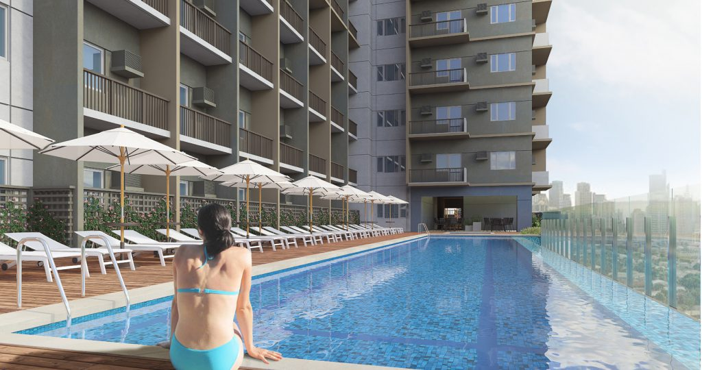 Vion Tower Edsa Makati Pool Area