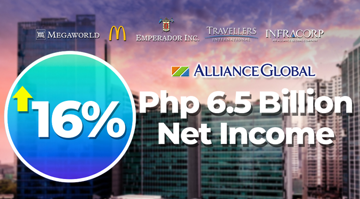 Alliance Global Q1 Income