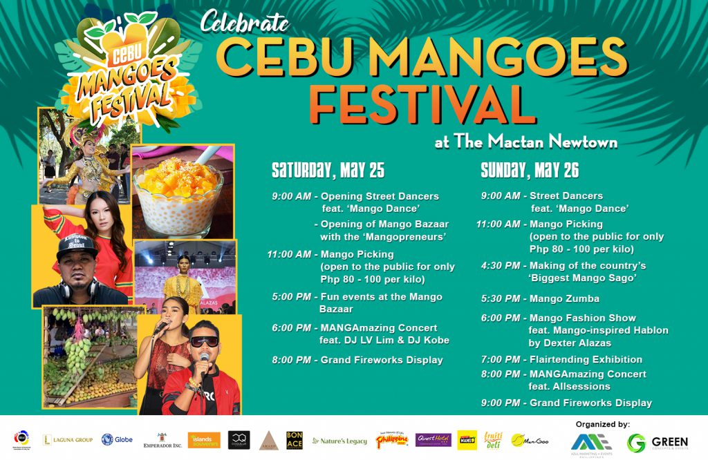 Cebu Magoes Festival Schedule of Activities
