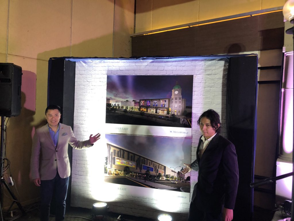 Upper East Mall Unveiling