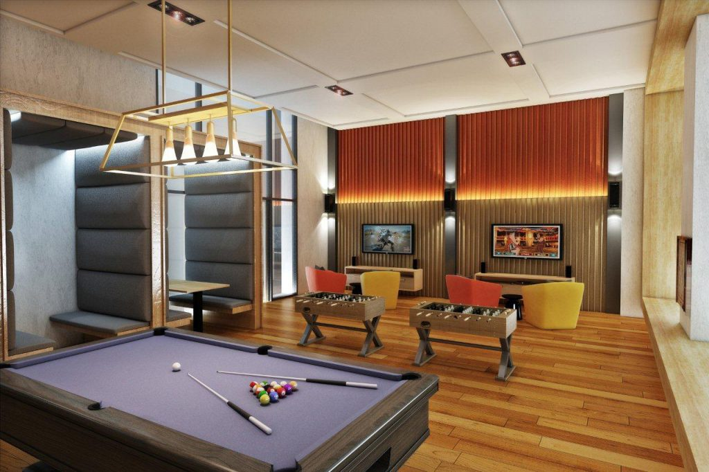 Park Mckinley West Game Room