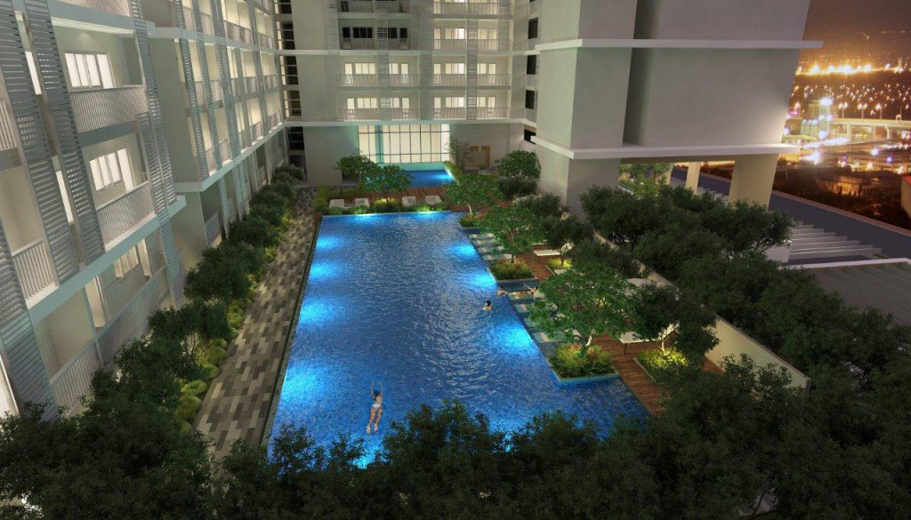 Park Mckinley West Pool View
